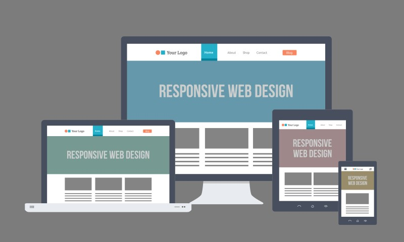 Responsive Design Means that All Sizes Screens Can Navigate the Site with Ease