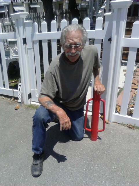Our oldest known customer installed a Jiminy Picket Fence by himself at the age of 81.