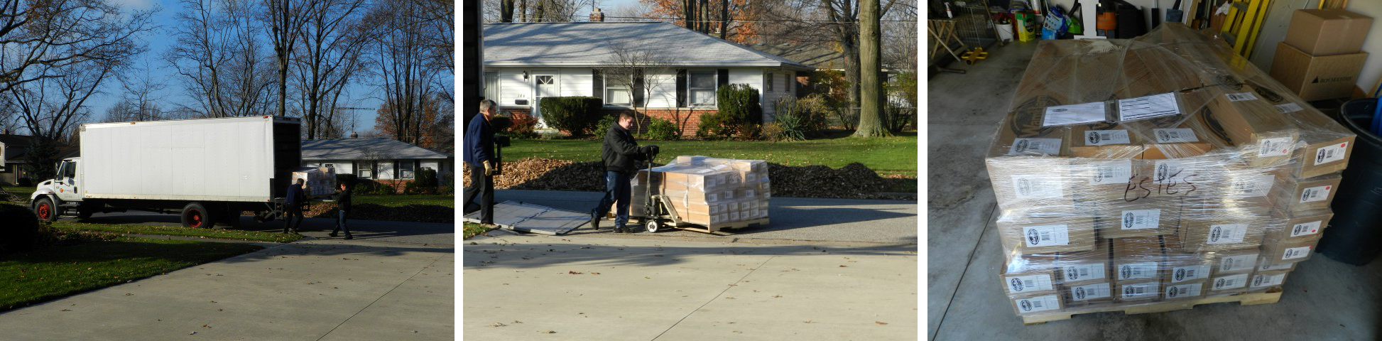 A special delivery comes to the door...what can it be?
