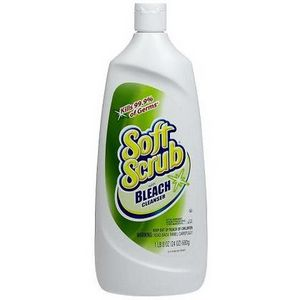 A gentle cleanser with a soft cloth or soft brush can help with the tougher dirt spots.