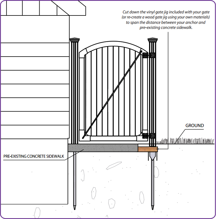 electric gate installation instructions