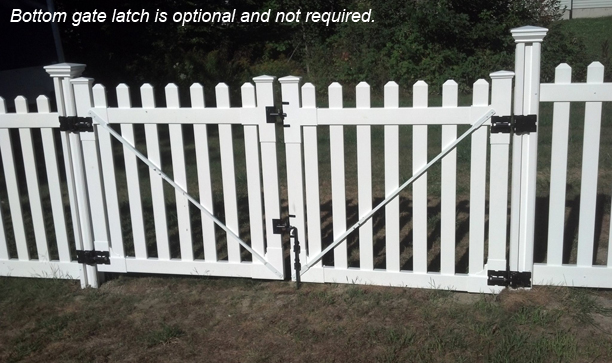 How to Make A Double Vinyl Gate WamBam Fence Knowledge Base